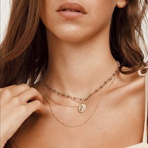 Princess Polly VIOLET HILL LAYERED NECKLACE